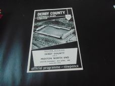 Derby County v Preston North End, 1967/68